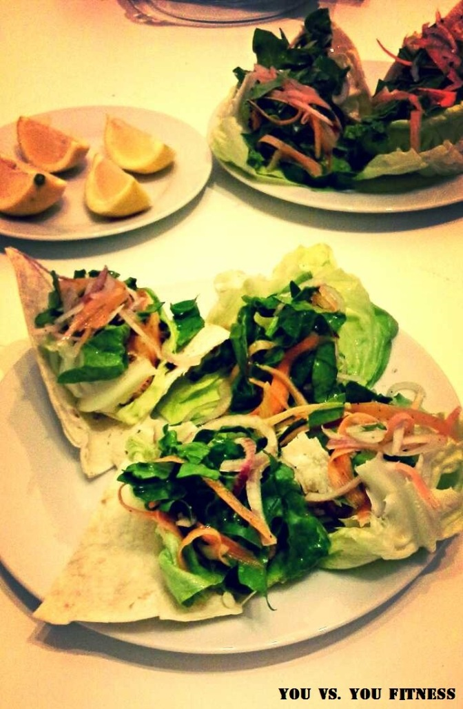 Easter special: Fish Tacos (from the forgive me diet experiment)